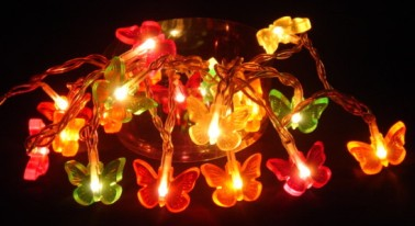 manufactured in China  FY-03A-005 Butterflies LED cheap christmas small led lights bulb lamp  factory